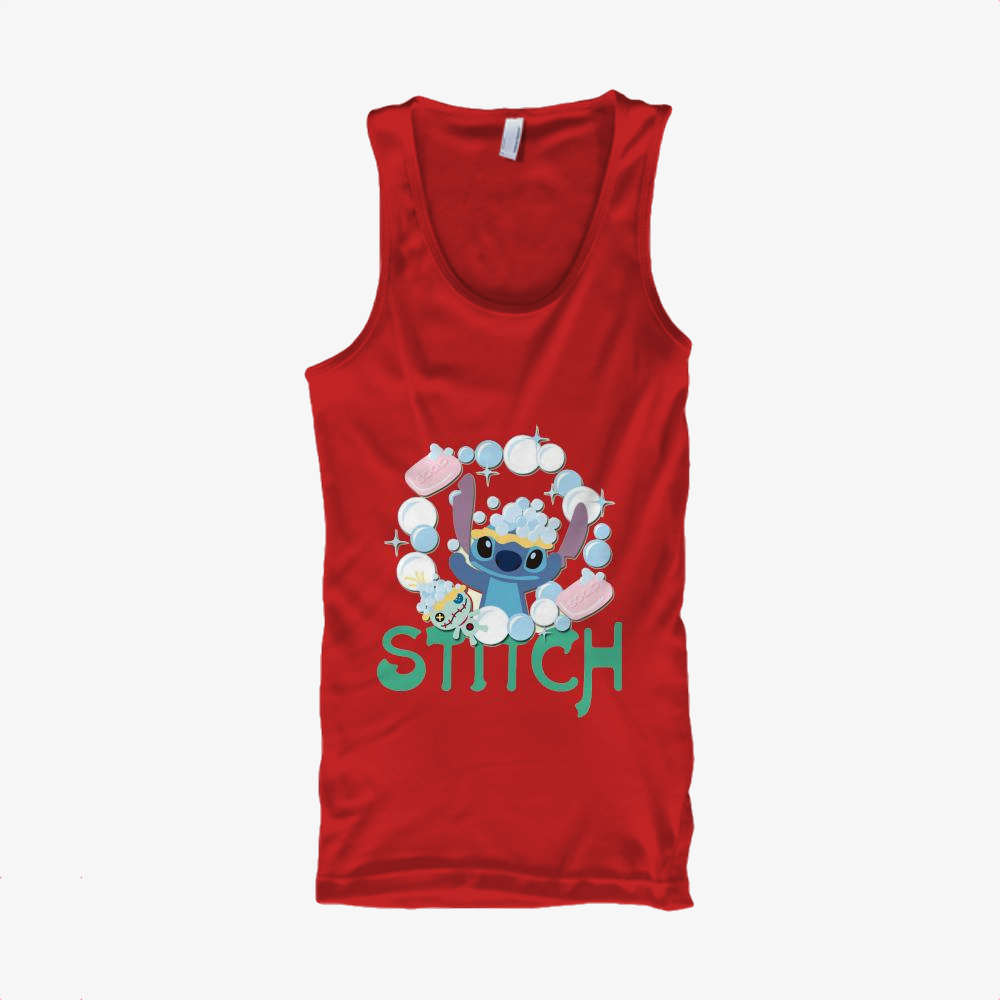 Stitch Take A Shower, Stitch Classic Tank Top