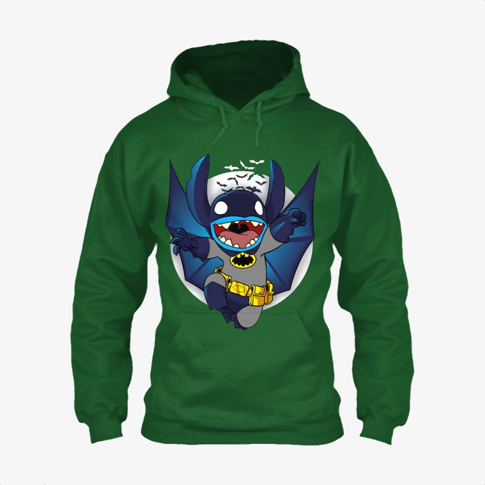The Caped Invader, Stitch Classic Hoodie