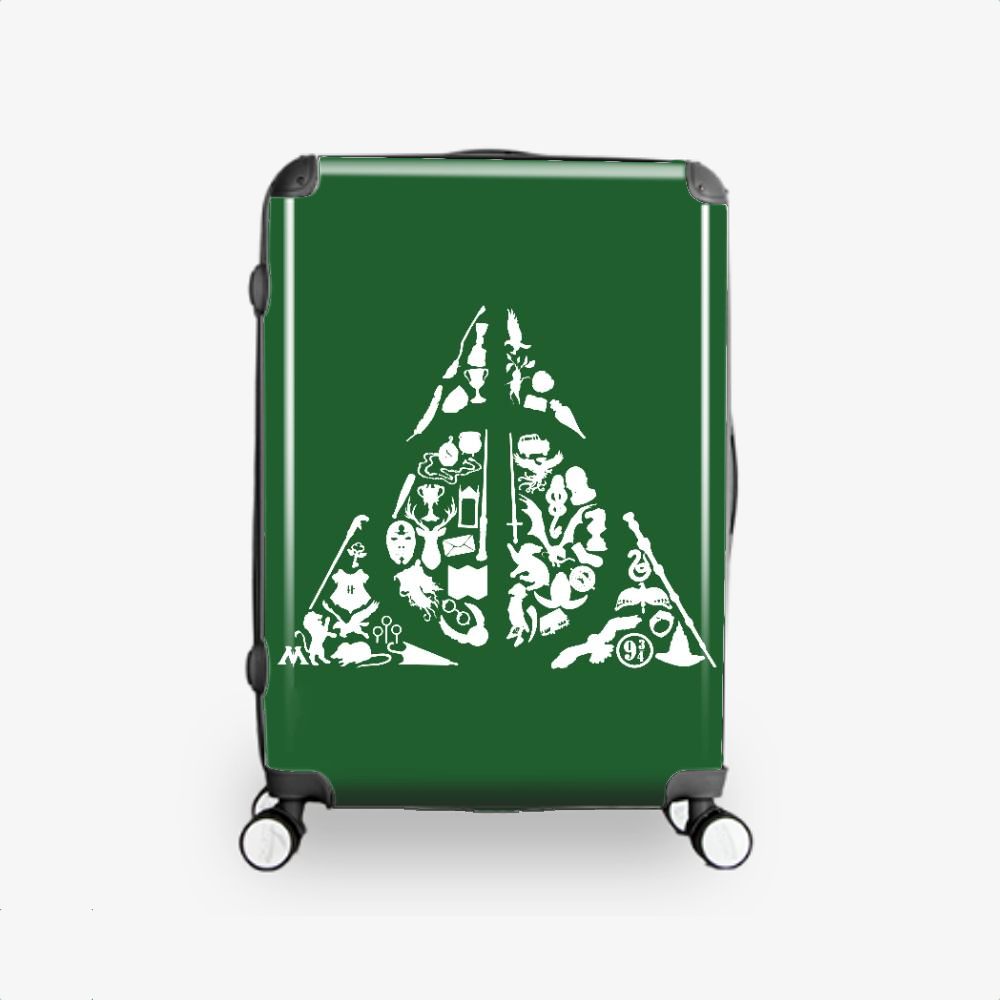 Deconstructed Hallows, Harry Potter Hardside Luggage