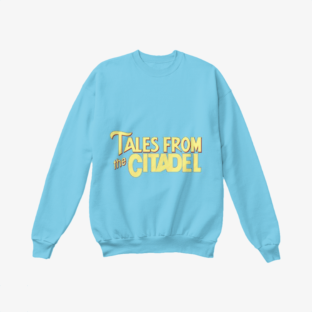 Tales From The Citadel, Rick And Morty Crewneck Sweatshirt