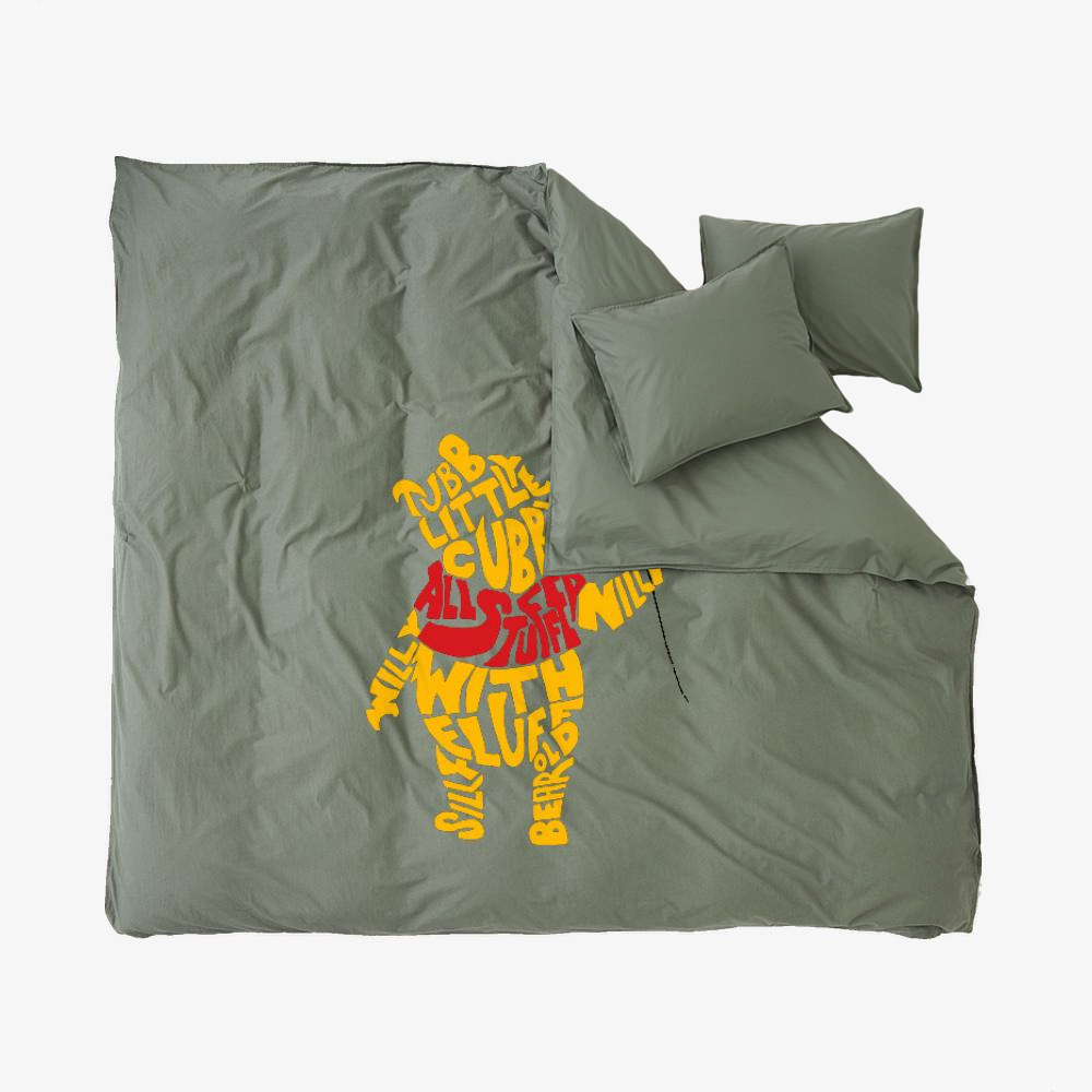 Chubby Little Cubby, Winnie-the-pooh Duvet Cover Set