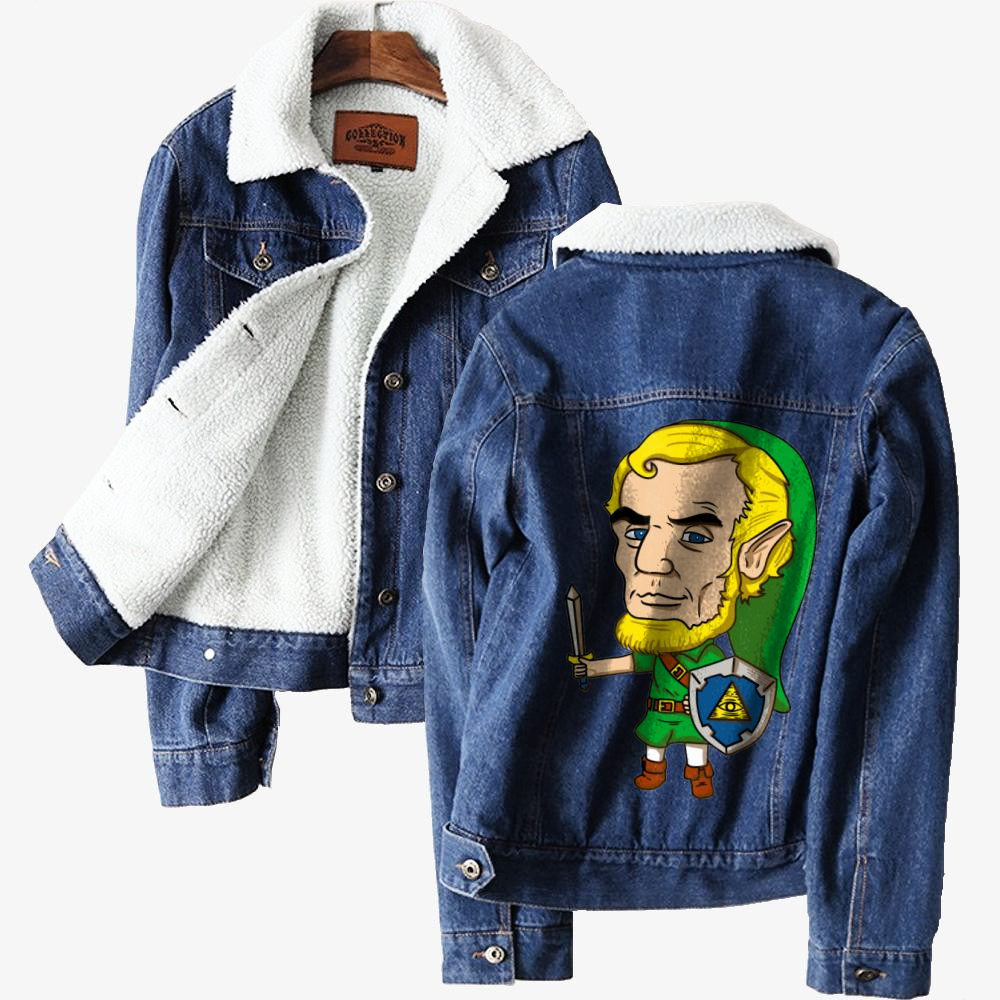 Abraham Linkolin, Abraham Lincoln Classic Lined Denim Jacket