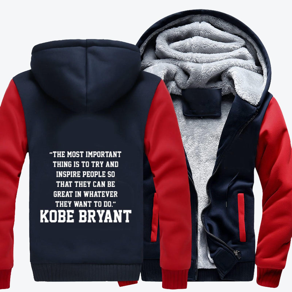 The Most Important Thing, Kobe Bryant Fleece Jacket