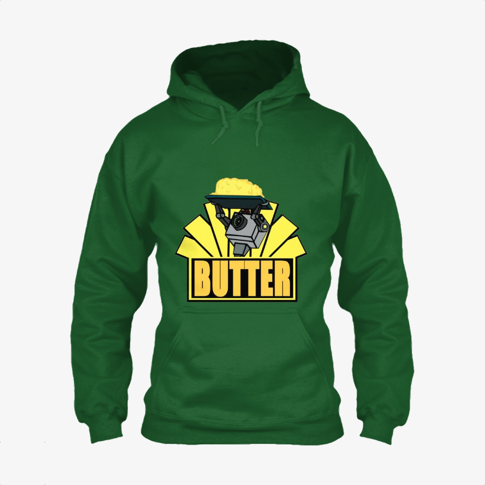 The Butter Robot, Rick And Morty Classic Hoodie