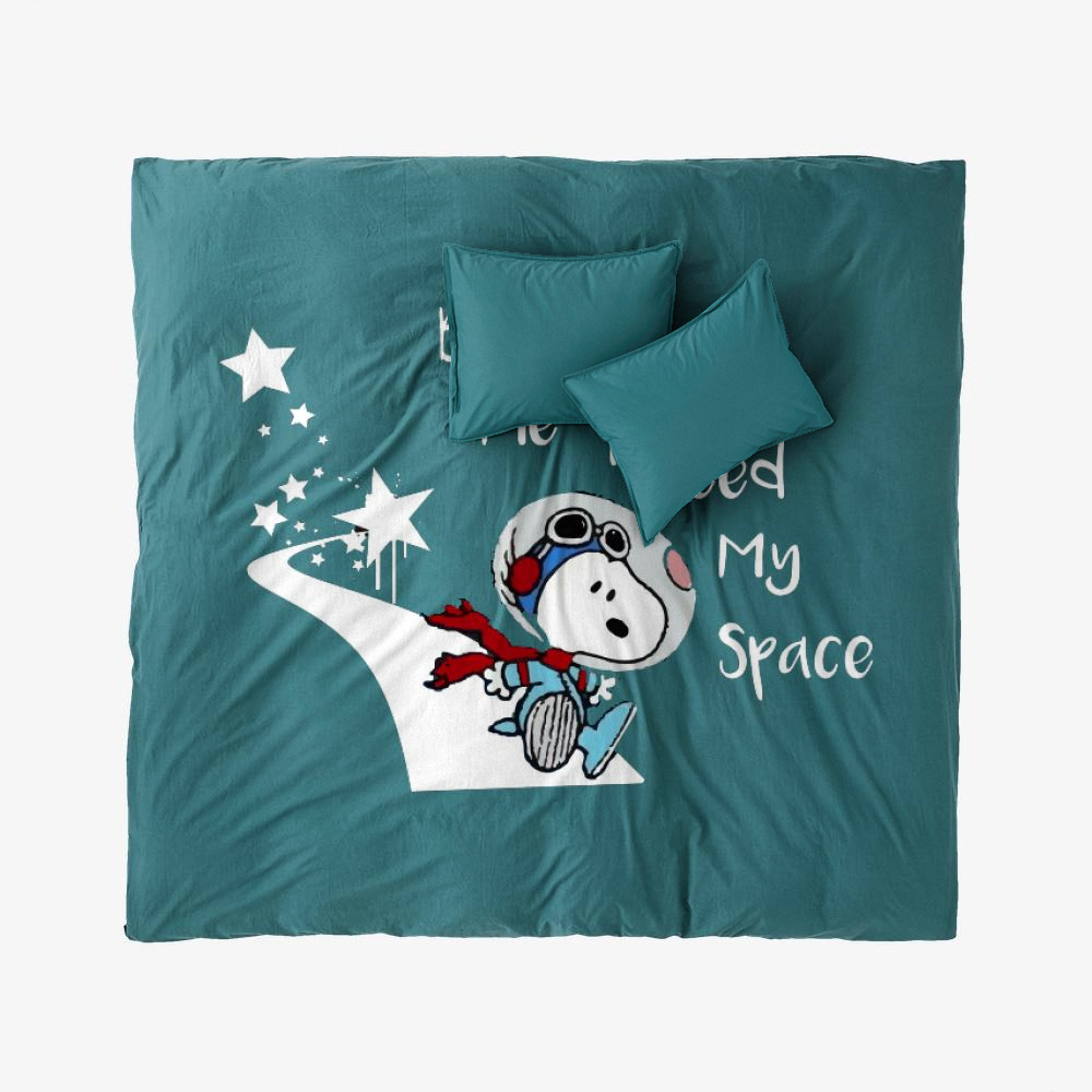 Snoopy Peanuts I Need My Space, Snoopy Duvet Cover Set