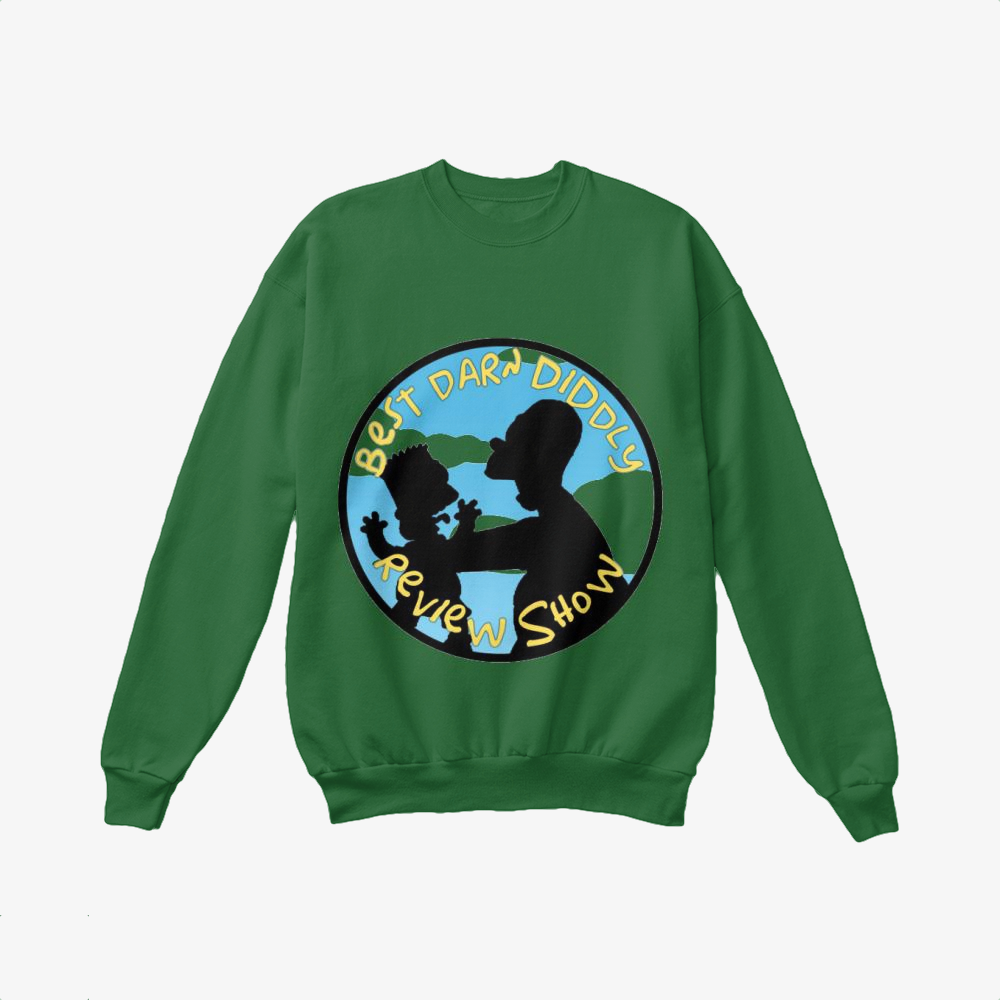 Best Darn Diddly, The Simpsons Crewneck Sweatshirt