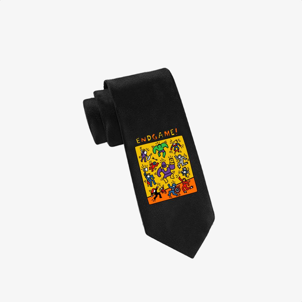 Pop Endgame, Keith Haring Twill Silk Tie