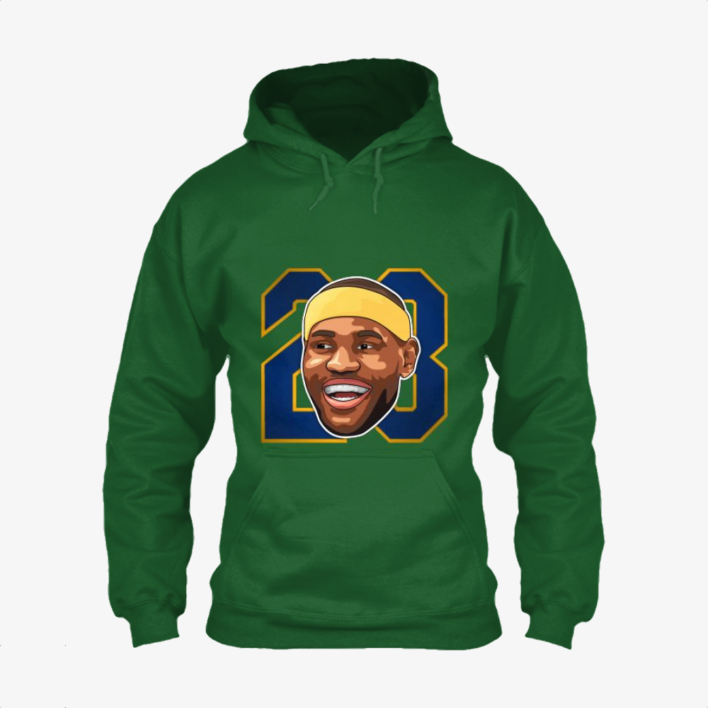 Cartoon Face 23, Lebron James Classic Hoodie