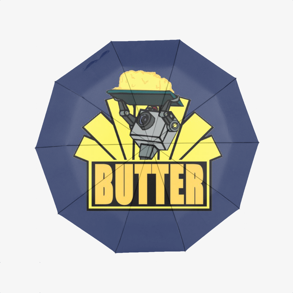 The Butter Robot, Rick And Morty Classic Umbrella