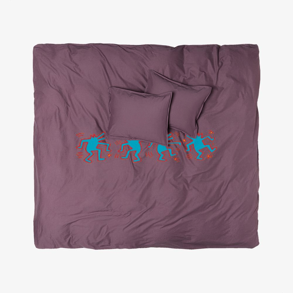 Dogs Dancing, Keith Haring Duvet Cover Set