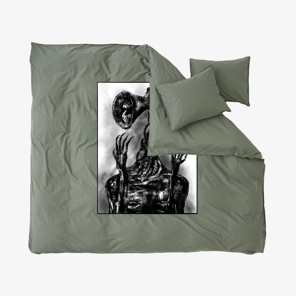 Sirenhead, Horror Film Duvet Cover Set