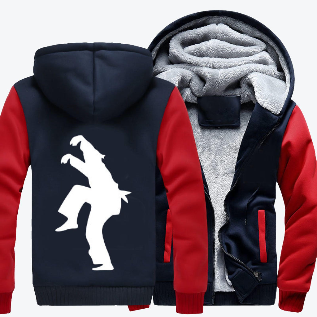 The Crane, The Karate Kid Fleece Jacket