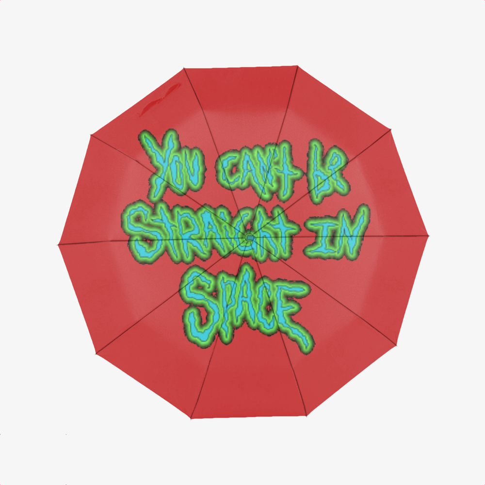 You Cant Be Straight In Space, Rick And Morty Classic Umbrella