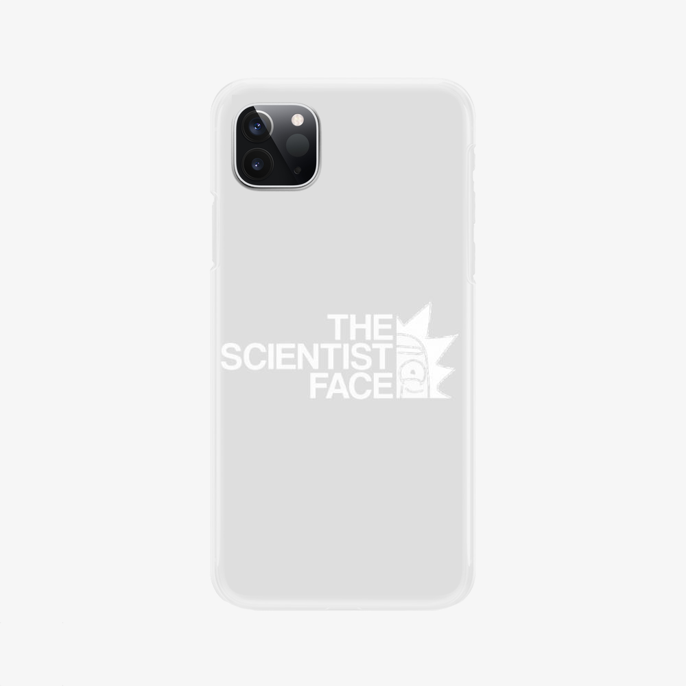 The Scientist Face, Rick And Morty Phone Case