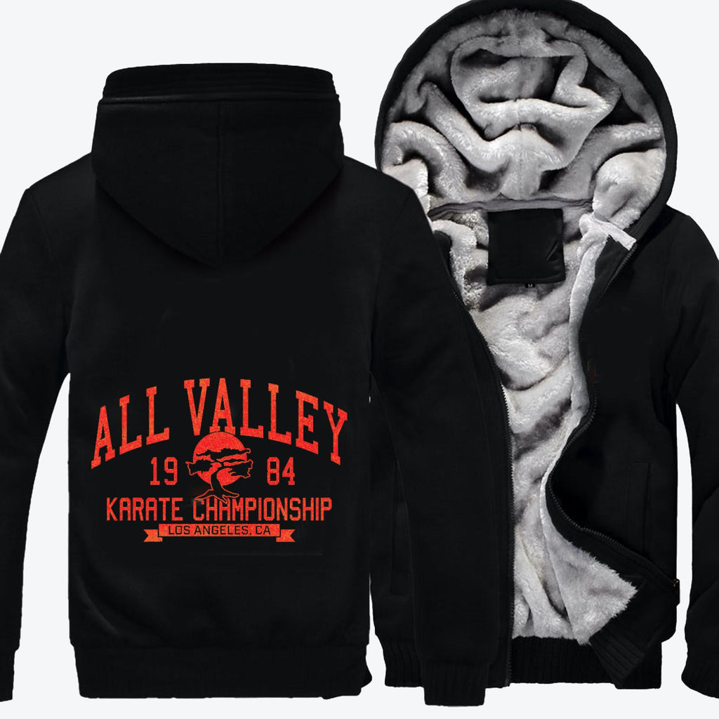All Valley Karate Tournament, The Karate Kid Fleece Jacket