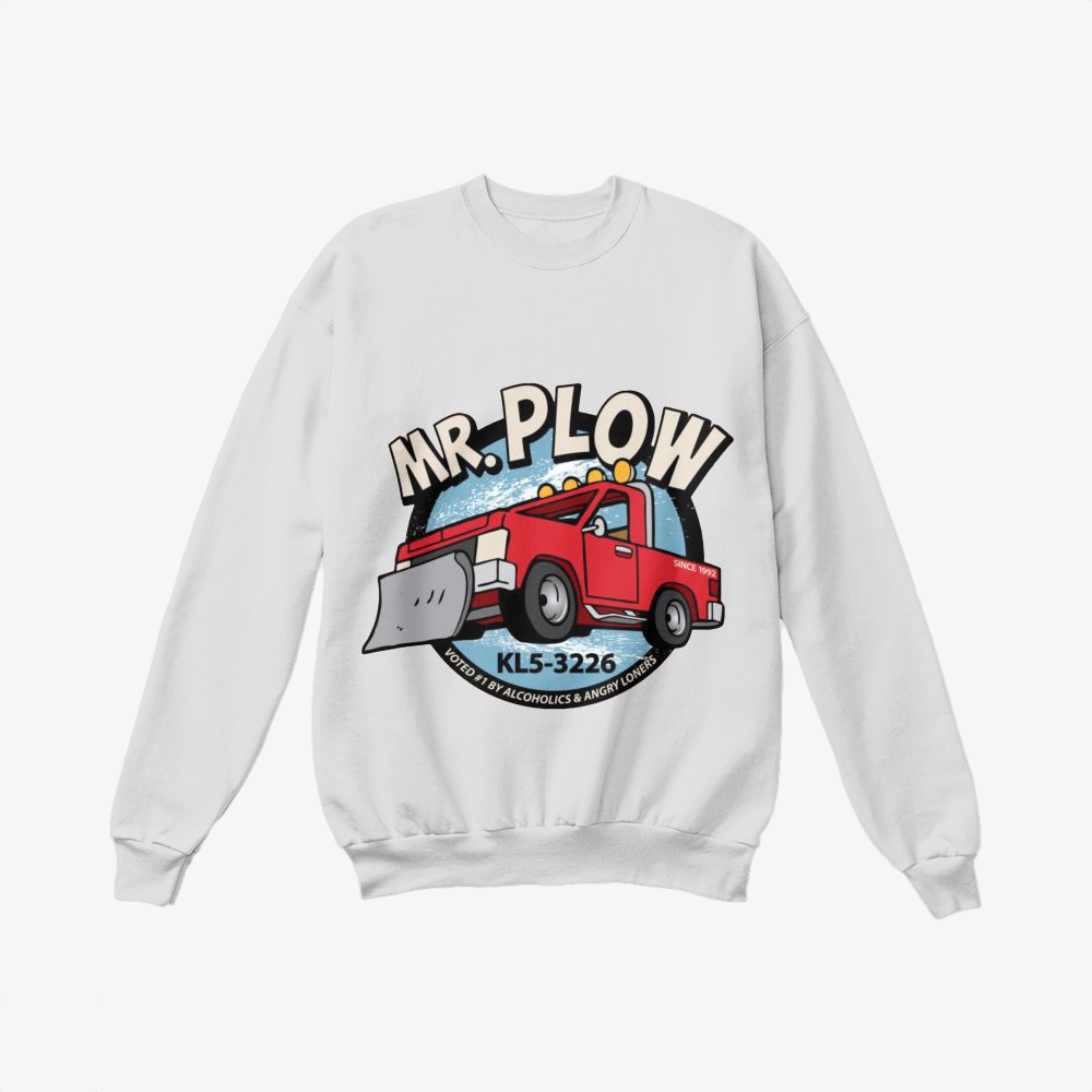 Mr. Plow Truck, The Simpsons Crewneck Sweatshirt