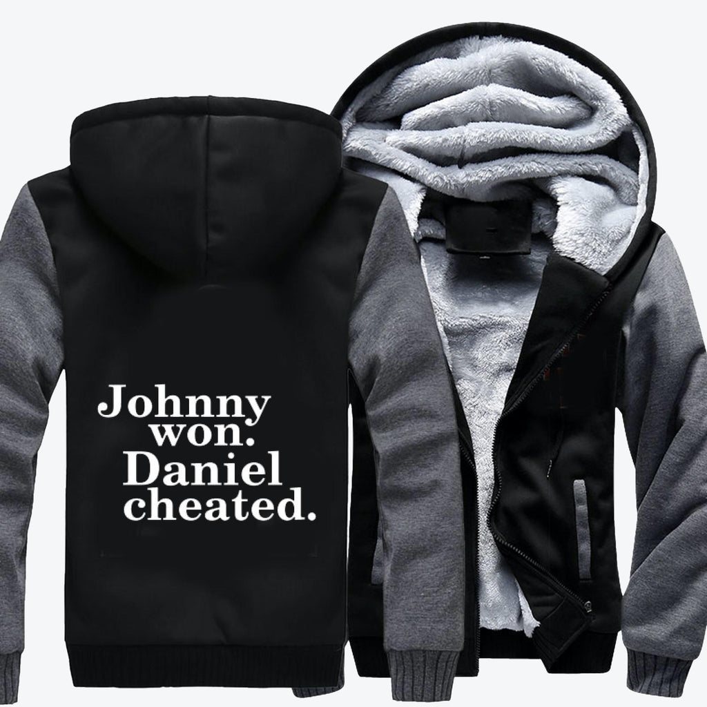 Daniel Cheated, The Karate Kid Fleece Jacket