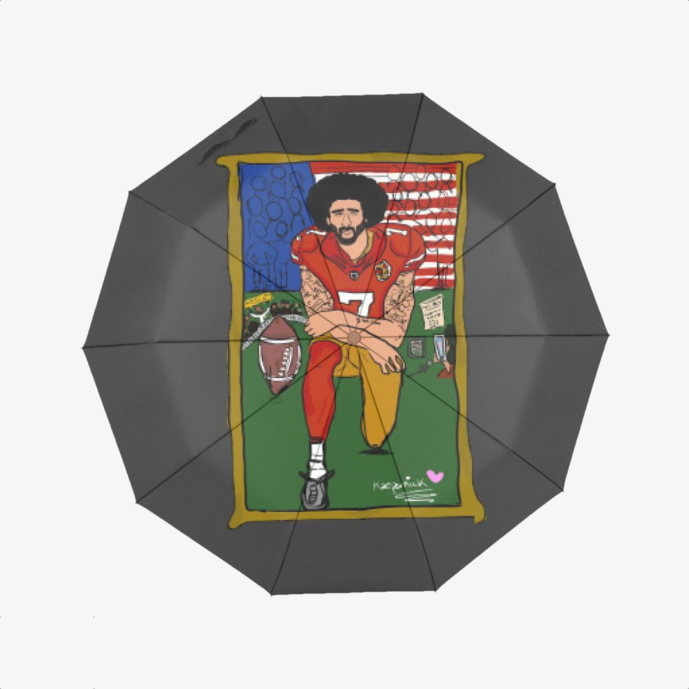 Tributte Black Lives Matters, Colin Kaepernick Classic Umbrella