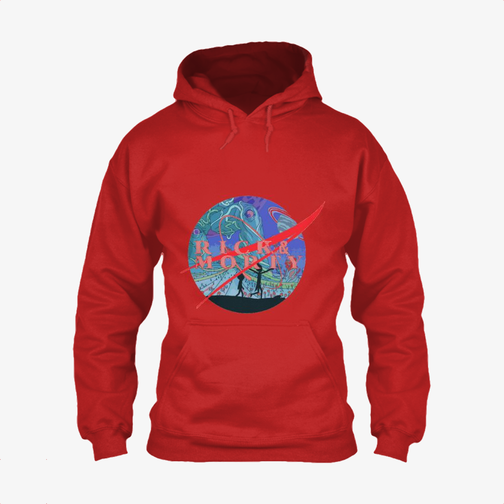 Rick And Morty Nasa, Rick And Morty Classic Hoodie