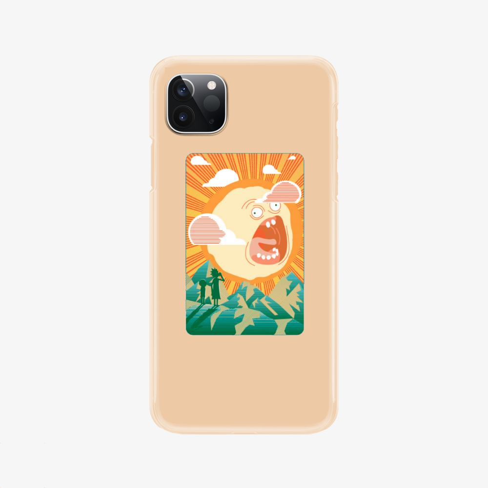 Rick And Morty Early Risin, Rick And Morty Phone Case