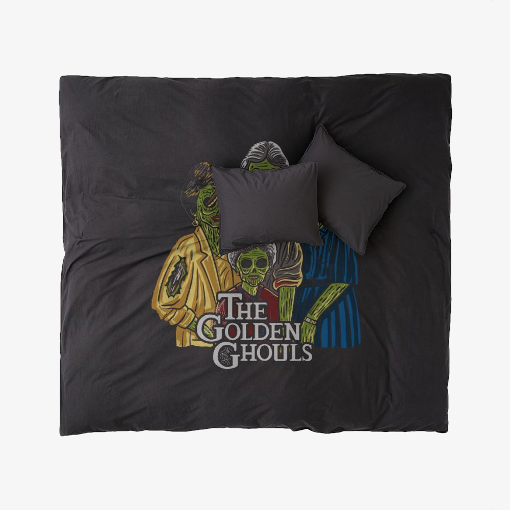 The Golden Ghouls, Horror Film Duvet Cover Set