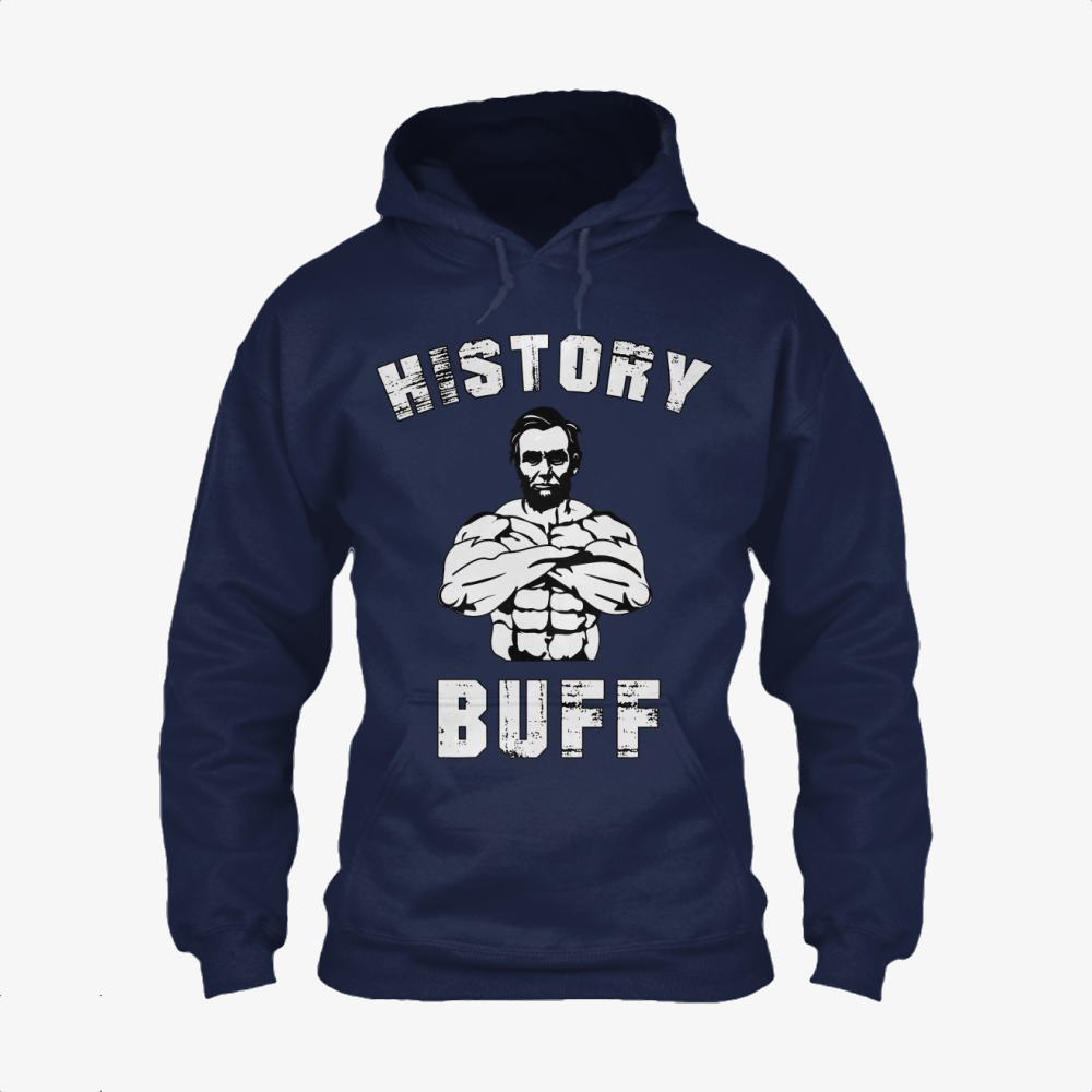 History Buff, Abraham Lincoln Classic Hoodie