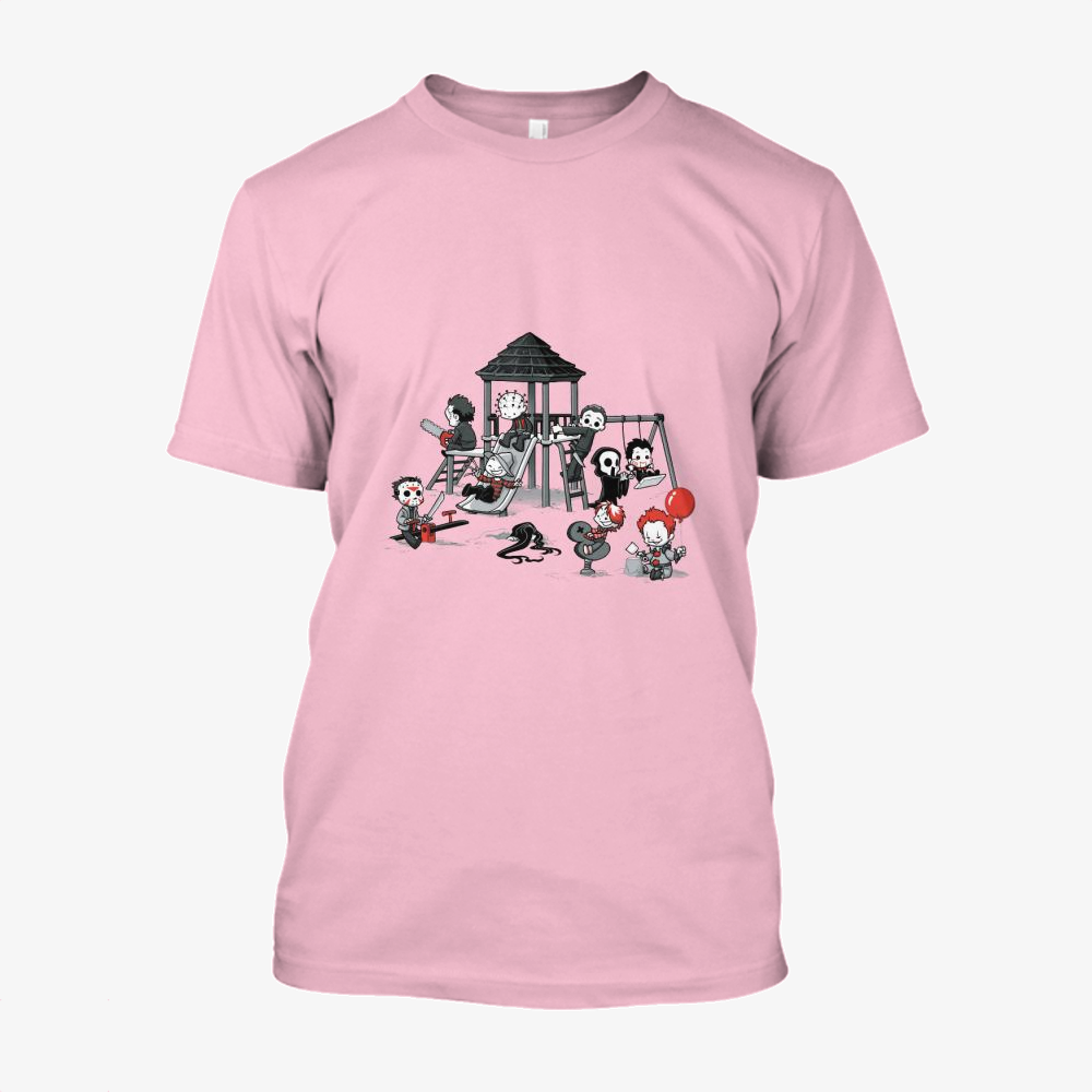 Horror Park, Horror Film Cotton T-Shirt