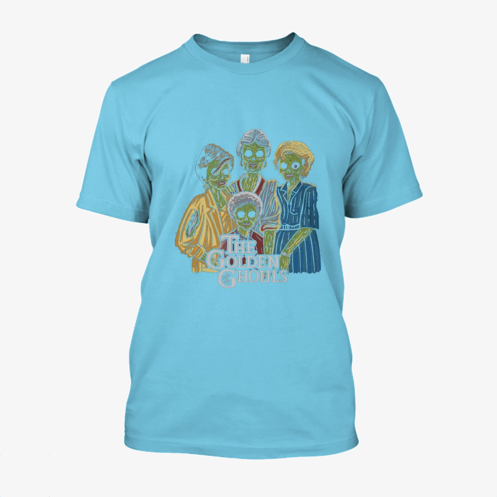 The Golden Ghouls, Horror Film Cotton T-Shirt