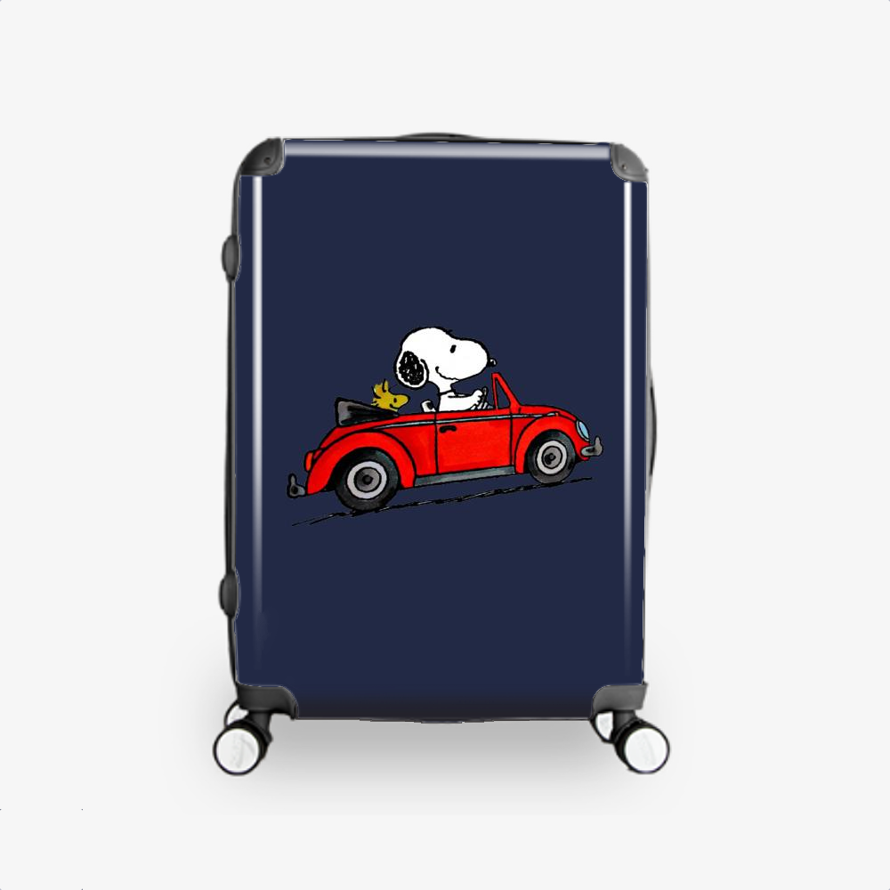 Car Snoopy, Snoopy Hardside Luggage