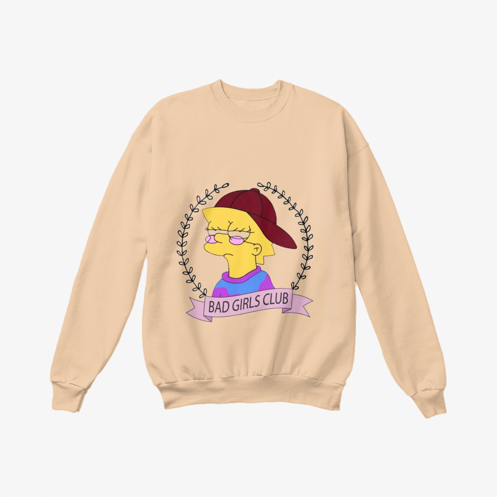 Bad Girls Club, The Simpsons Crewneck Sweatshirt