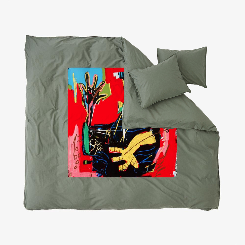 Ernok, Jean-michel Basquiat Duvet Cover Set