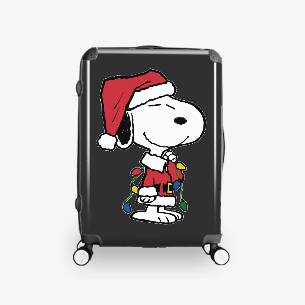 Snoopy Christmas Gifts, Snoopy Hardside Luggage
