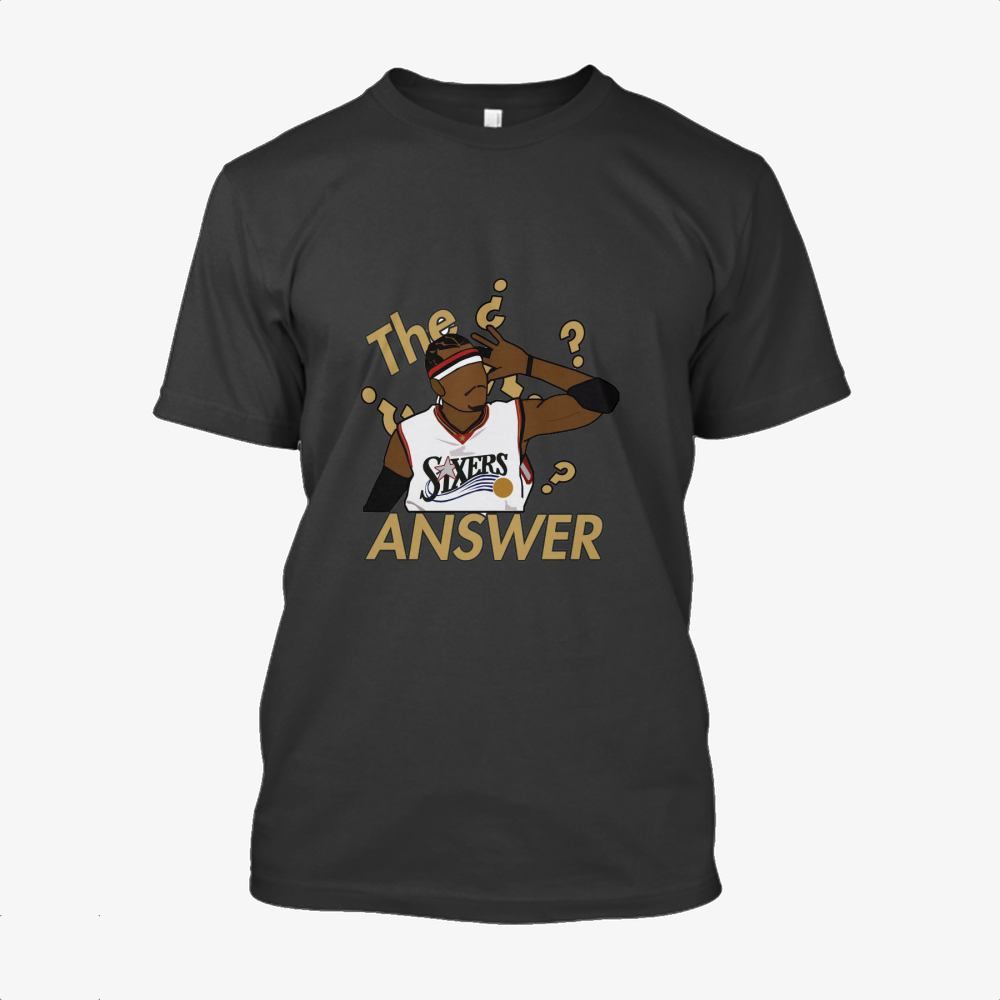The Answer, National Basketball Association Cotton T-Shirt