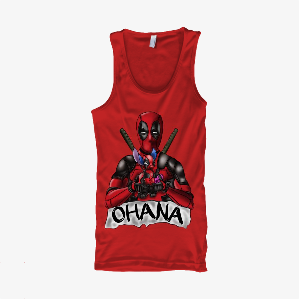 Ohana Deadpool And Stitch, Stitch Classic Tank Top