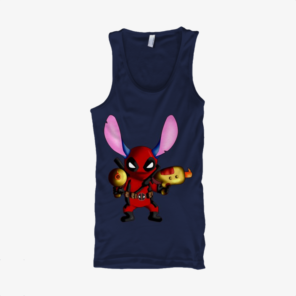 Stitch Deadpool Combined, Stitch Classic Tank Top