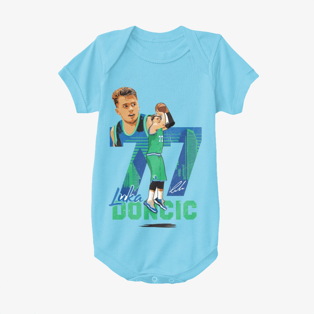 Luka Doncic, National Basketball Association Baby Onesie