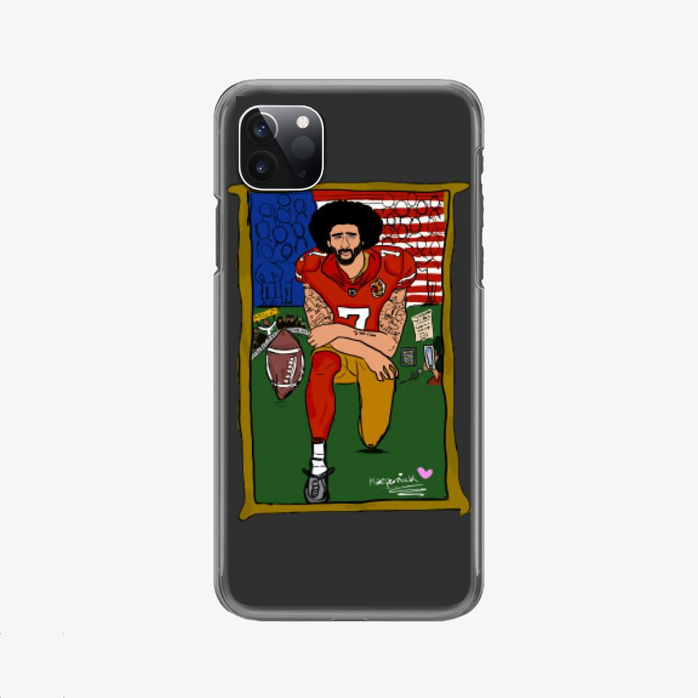 Tributte Black Lives Matters, Colin Kaepernick Phone Case