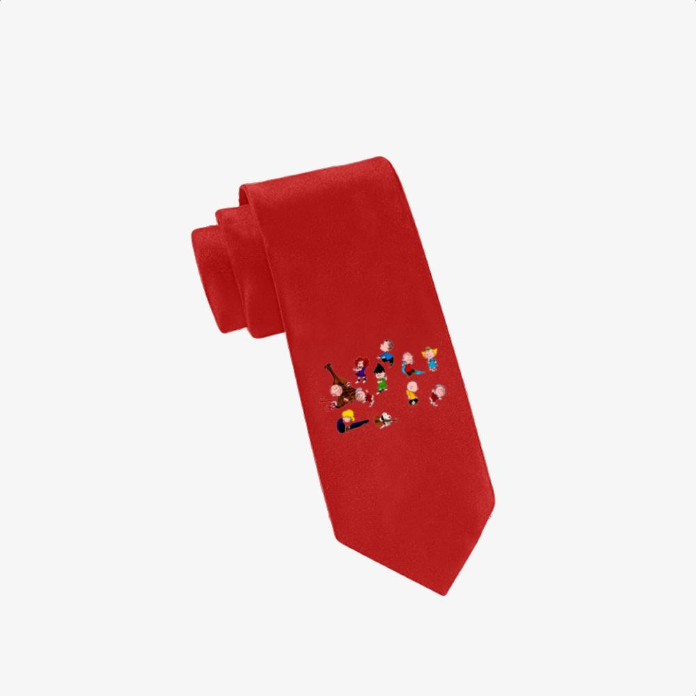 Charlie Brown Christmas Dance, Snoopy Twill Silk Tie