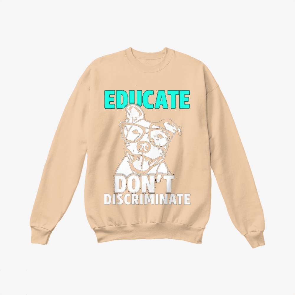 The Pitbull Educate, Pitbull Crewneck Sweatshirt
