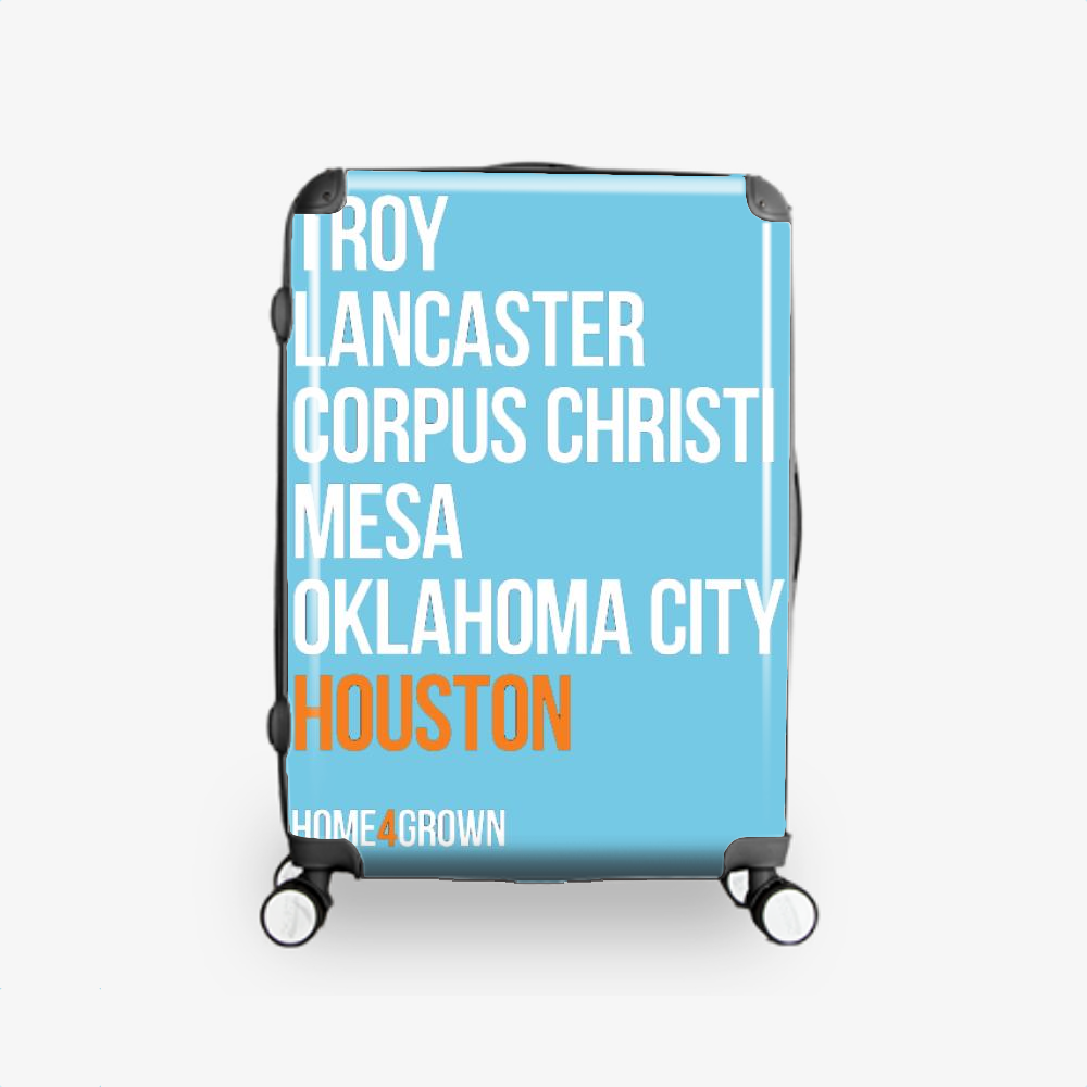 Homegrown Series, Houston Astros Hardside Luggage