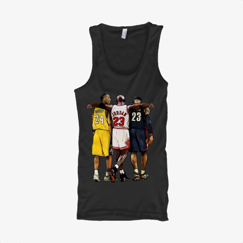 Kobe Michael Lebron James, National Basketball Association Classic Tank Top