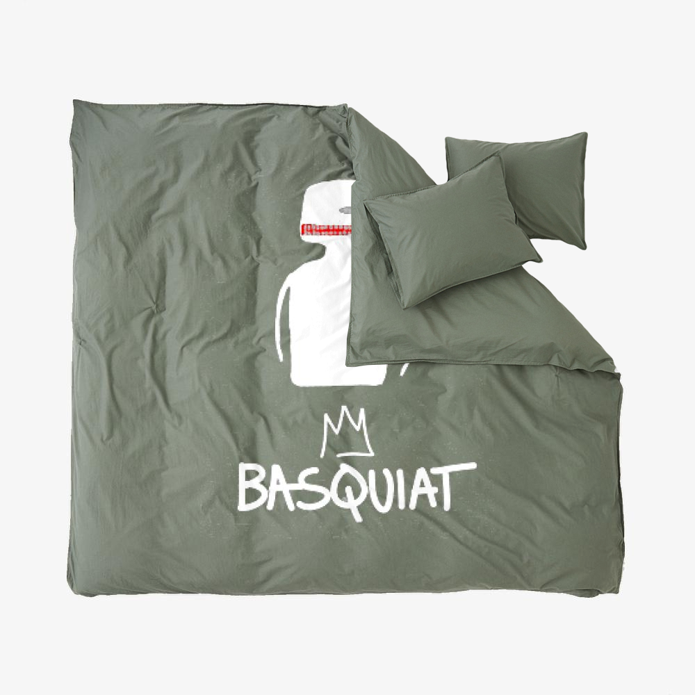 Bq, Jean-michel Basquiat Duvet Cover Set