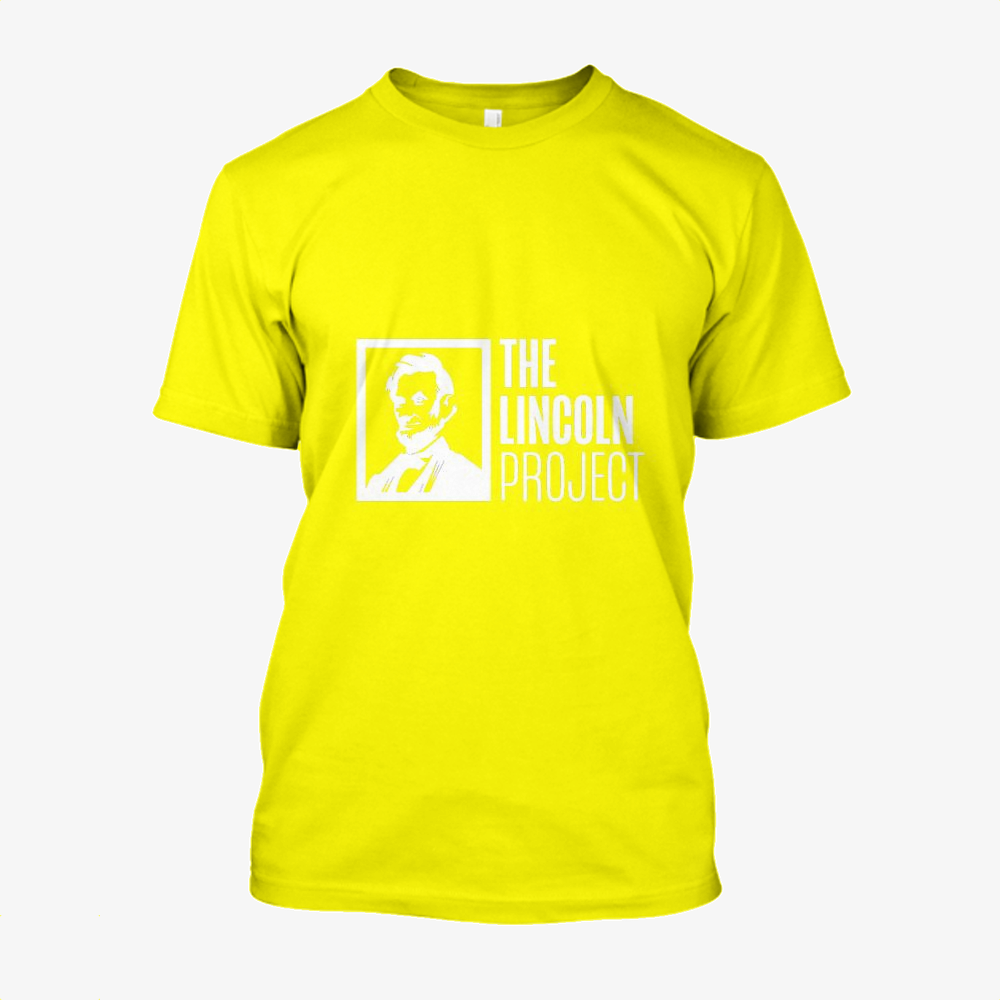 The Lincoln Project, Abraham Lincoln Cotton T-Shirt