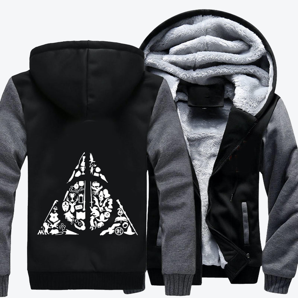 Deconstructed Hallows, Harry Potter Fleece Jacket