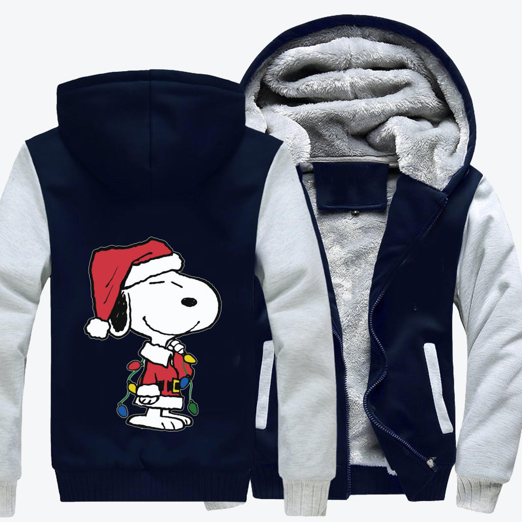Snoopy Christmas Gifts, Snoopy Fleece Jacket
