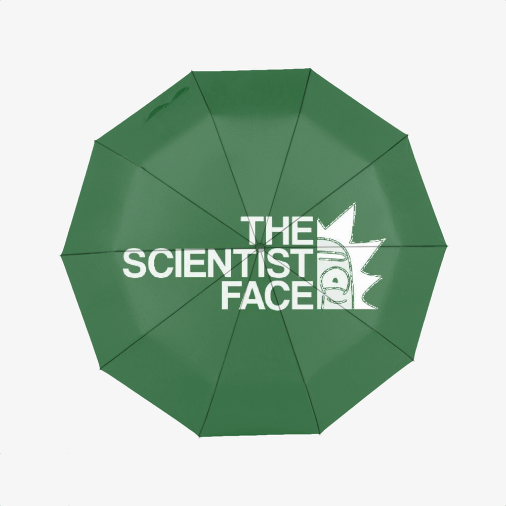 The Scientist Face, Rick And Morty Classic Umbrella