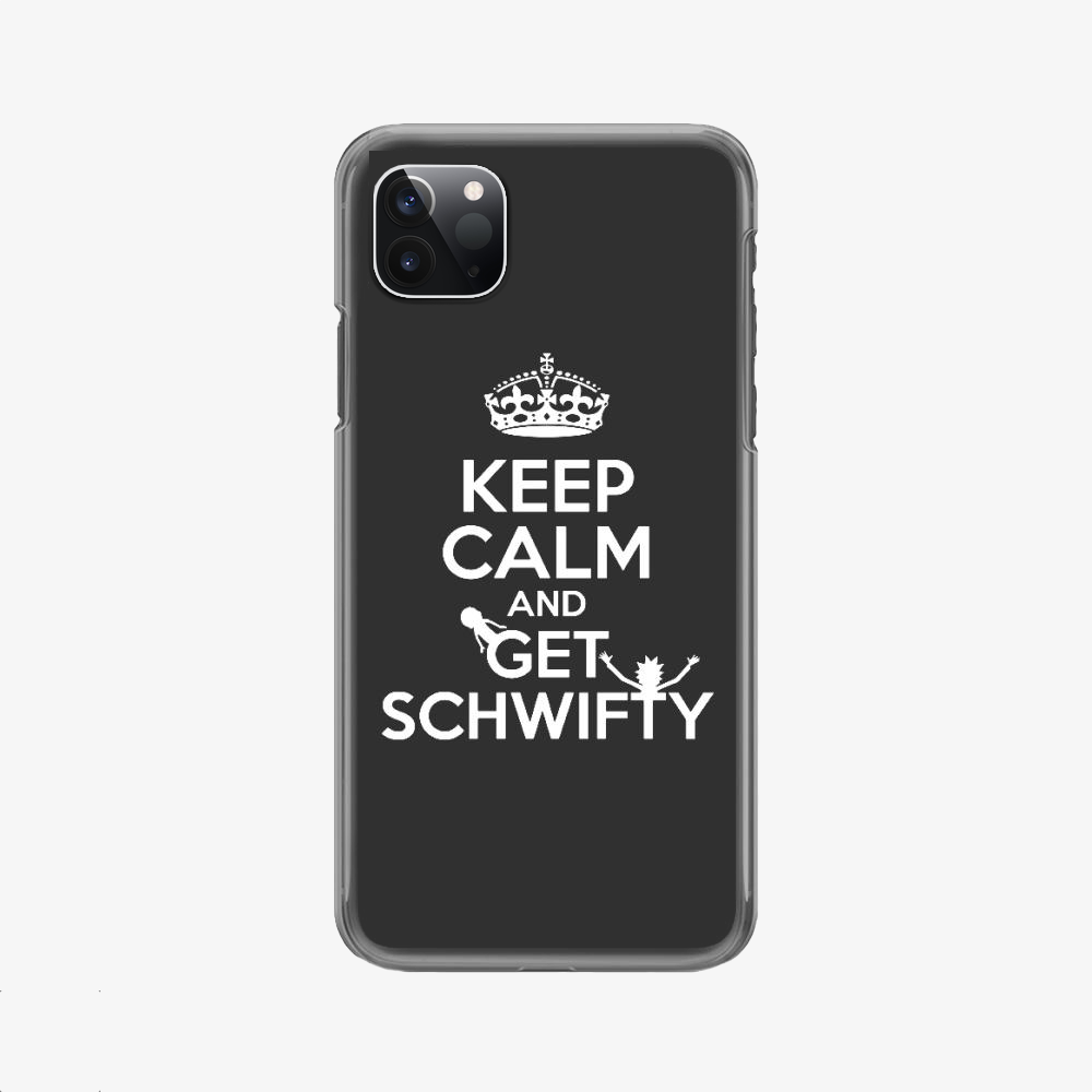 Rick Morty Keep Calm, Rick And Morty Phone Case