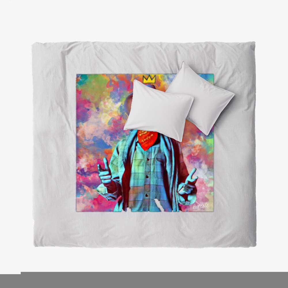 On The Draw, Jean-michel Basquiat Duvet Cover Set