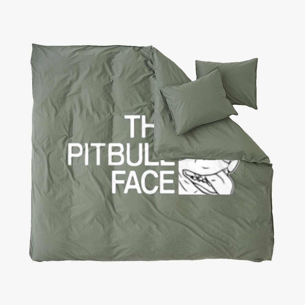 The Pitbull Face, Pitbull Duvet Cover Set