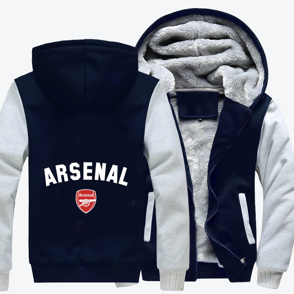 Arsenal The Gunners, Arsenal Fc Fleece Jacket